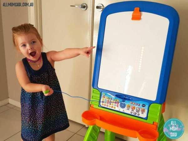 VTech creativity easel whiteboard