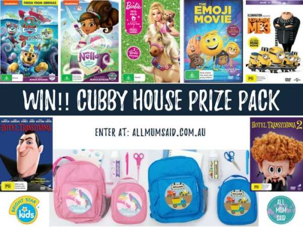 Cubby House giveaway DVD and Bright Star Kids