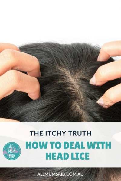 All Mum Said - How to deal with head lice