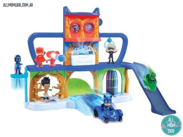 Christmas Giveaway - PJ Masks Headquarters Playset