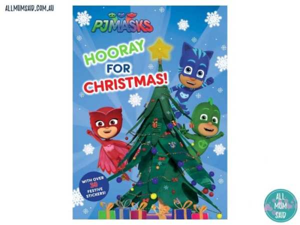 Christmas Giveaway - PJ Masks Hooray for Christmas book