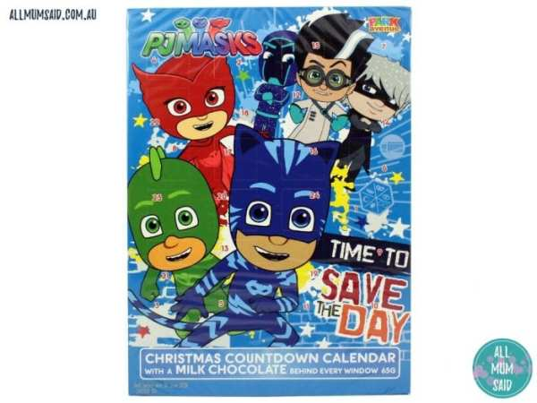 Christmas Giveaway - PJ Masks advent calendar