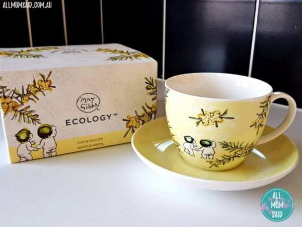 May Gibbs collectibles Ecology tea cup and saucer