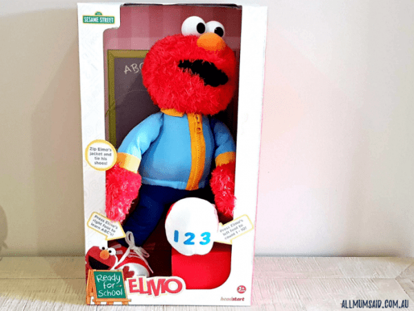 Sesame Street ready for school Elmo in box