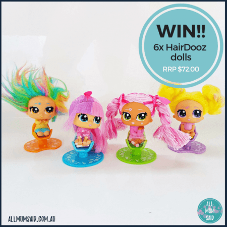 WIN HairDooz dolls prize