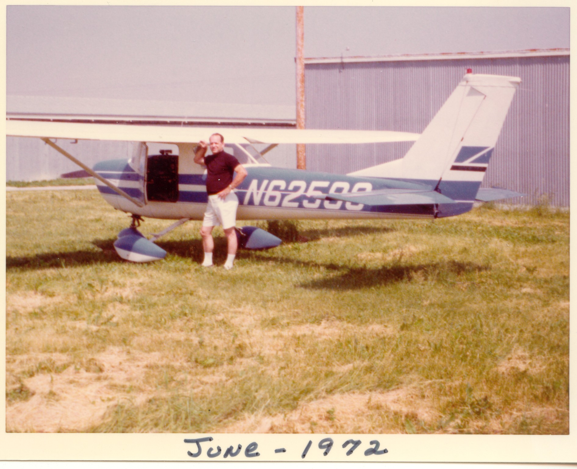 dad by plane