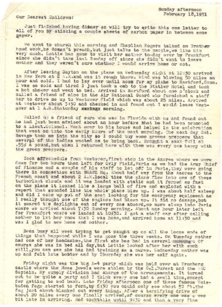 Letters from Germany - Part 1 (2/2)