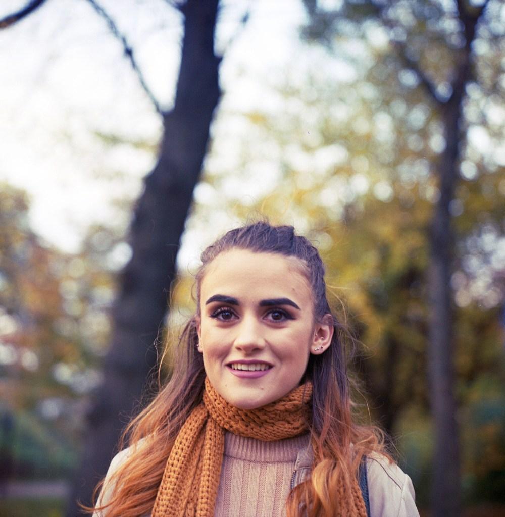 Rolleiflex portrait