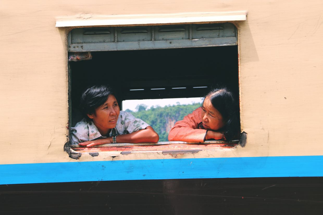 Mandalay to Hsipaw - best train journey in the world