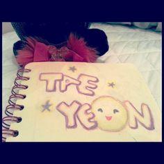 Taeyeon's cute drawing - 2