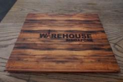 Finally settled for a bar called Warehouse for dinner