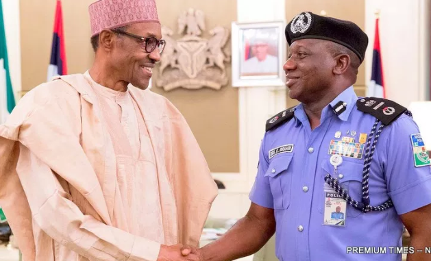 Image result for IGP Ibrahim Idris not queried by President Buhari