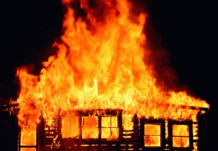 Fire Tears Down Building In Yobe [Photos]