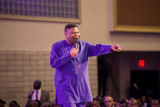 bishop of The Redeemed Evangelical Mission (TREM), Mike Okonkwo