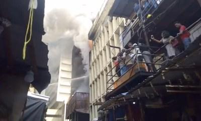 Balogun Market Lagos Fire