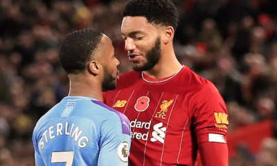 Raheem Sterling et Joe Gomez