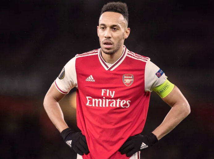 EPL: Pierre-Emerick Aubameyang Loses Appeal, Bags Three Matches Ban!