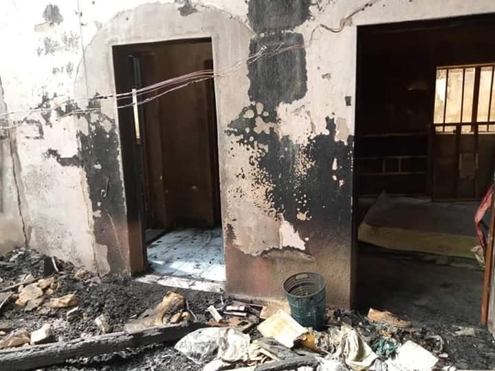 Fire Burnt House In Yobe
