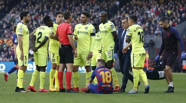 Jordi Alba Barcelona Getafe
