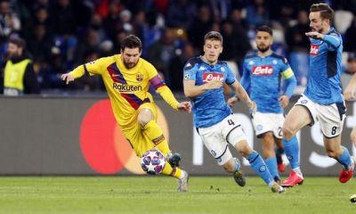 Napoli vs Barcelona UCL