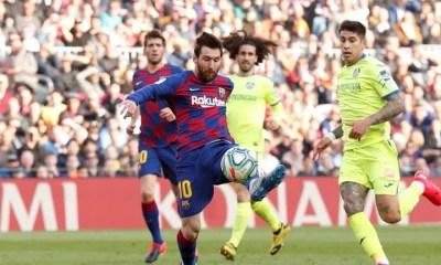 Messi Barcelona Getafe