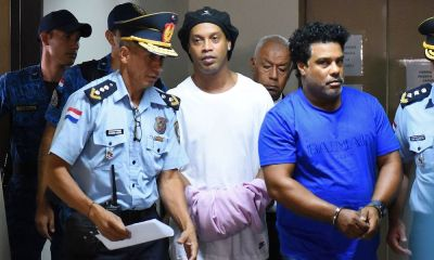 Ronaldinho Arrested In Paraguay