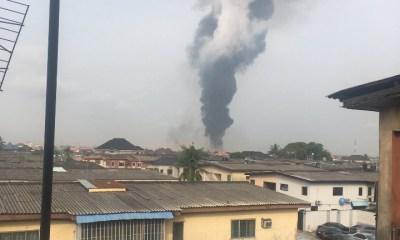 Pipeline explosion in Lagos, Ogun State