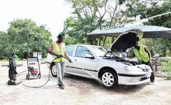 Car wash center - Nigeria