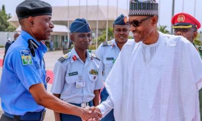 IGP Adamu and Buhari