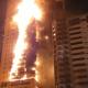 UAE Story Buiding Fire