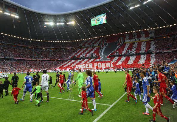 Chelsea vs Bayern Munich UCL 2012