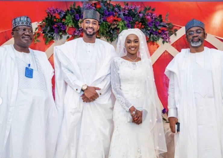 Hanan Buhari weds Mohammed Turad Sani Sha'aban