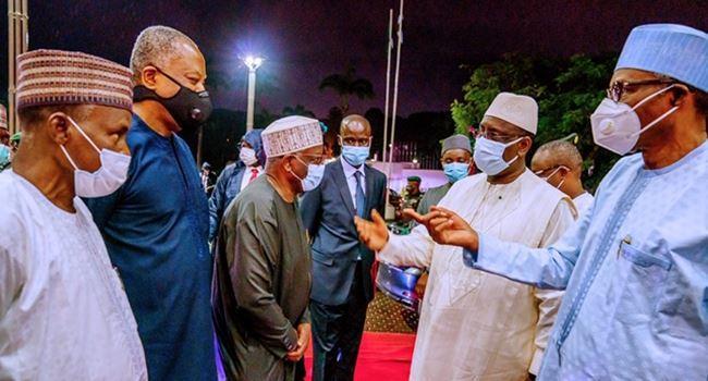 Buhari hosts Senegal, Guinea Bissau presidents in Aso Rock