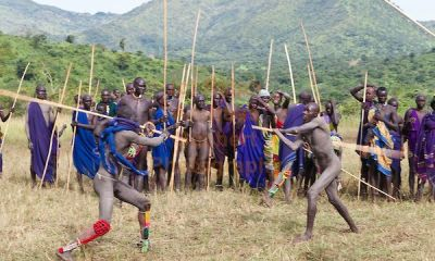 Nguni Stick Fighting