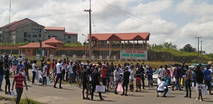 Osogbo EndSARS Protest