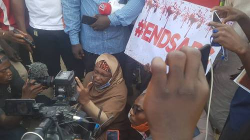 End Sars Protest In Abuja