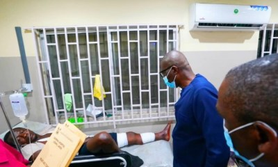 Sanwo-Olu visits victims, gives details on protesters shot
