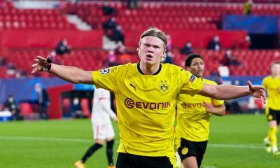 Erling Halland Dortmund Sevilla UCL