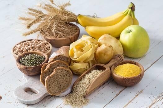أغذية عنية بالكربوهيدرات