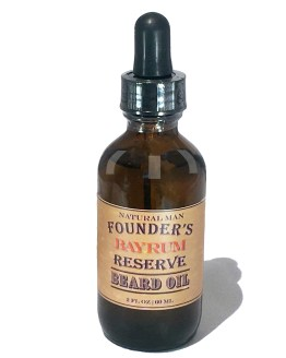 All Natural Shave Bay Rum Essential Oil Scented Beard Oil