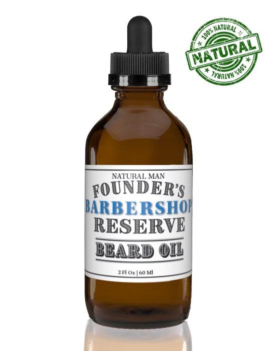 Two ounce barbershop beard oil