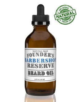 Two ounce barbershop beard oil
