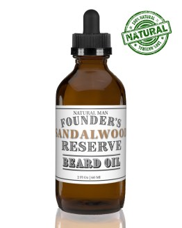 Sandalwood beard oil 2 ounces.