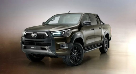 2021 Toyota Hilux with new exterior concept