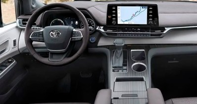 2021 Toyota Sienna has more security features