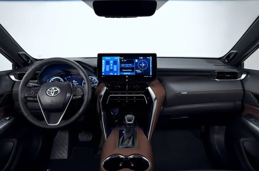 2021 Toyota Venza has more features on dashboard