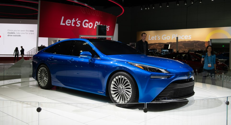 2022 Toyota Mirai with its new concept