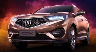 2021 Acura CDX with new exterior design