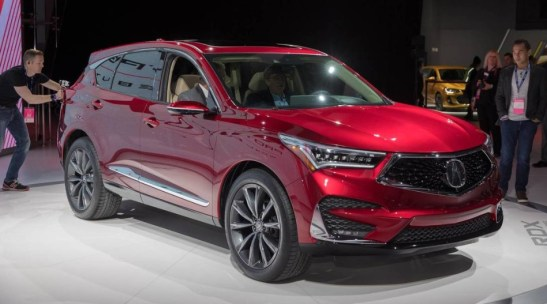 2021 Acura RDX Introduced at Auto Show