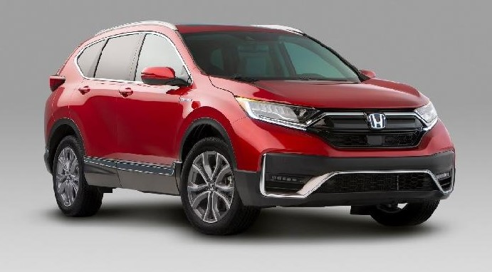 2021 Honda CR-V with new exterior design